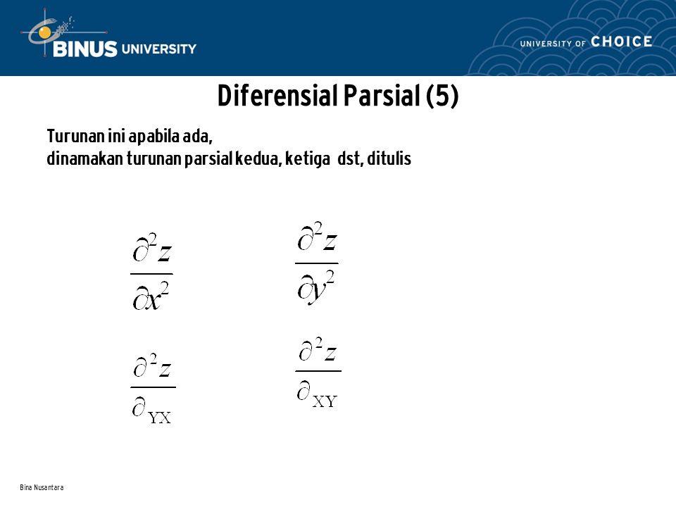 Diferensial Parsial (5)