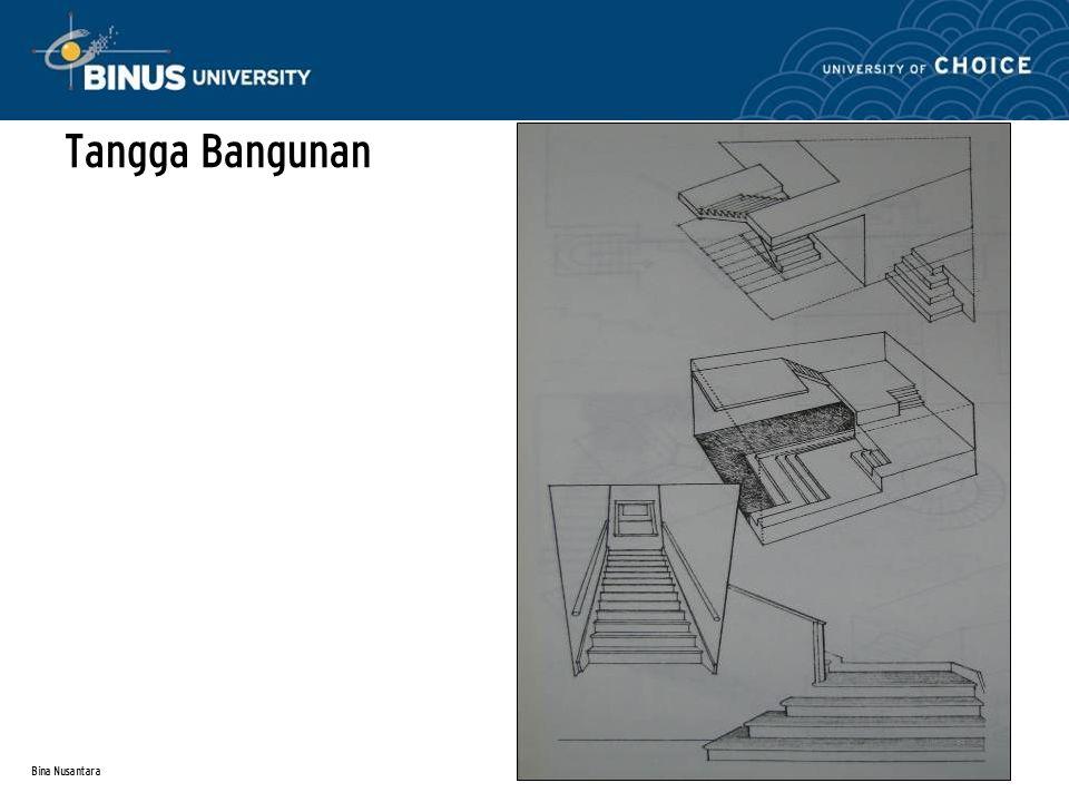 Tangga Bangunan Bina Nusantara