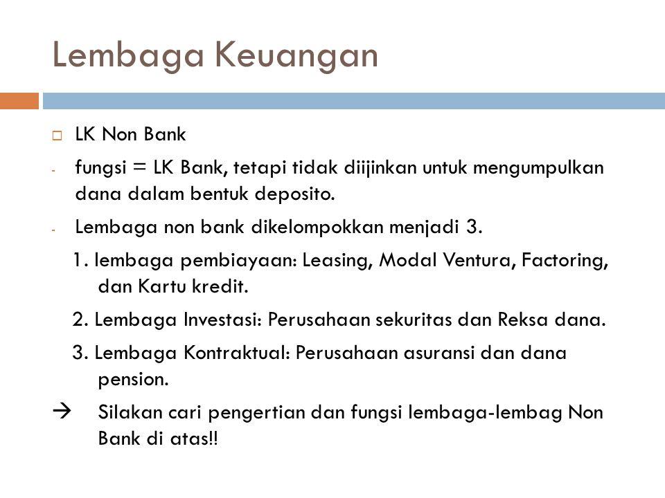 Lembaga Keuangan LK Non Bank