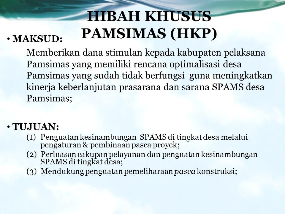 HIBAH KHUSUS PAMSIMAS (HKP)
