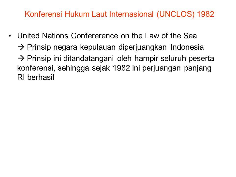 Konferensi Hukum Laut Internasional (UNCLOS) 1982
