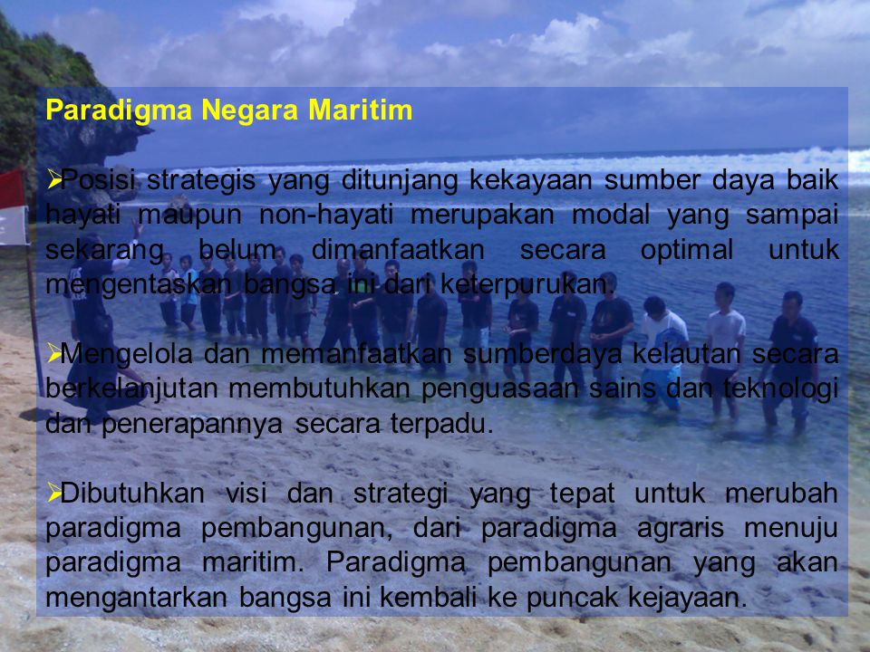 Paradigma Negara Maritim