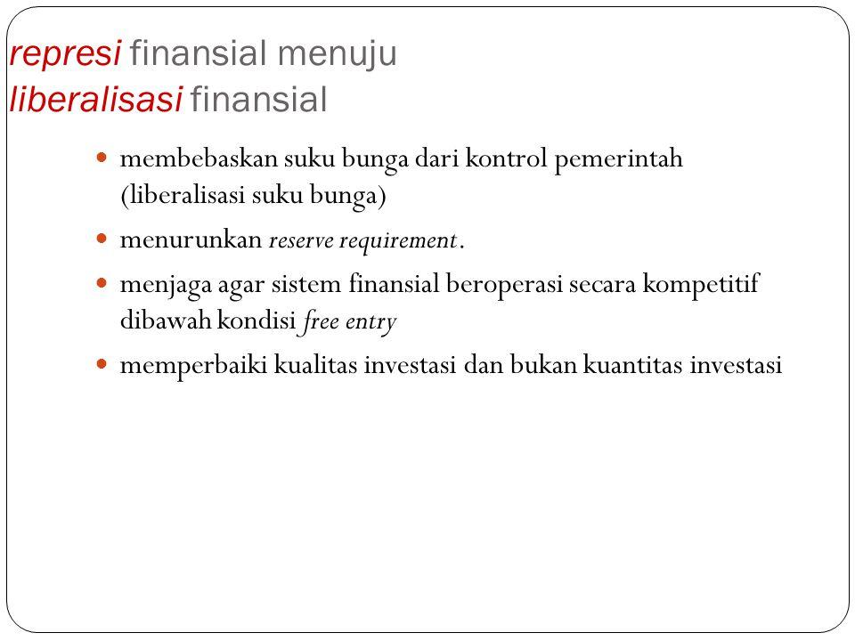 represi finansial menuju liberalisasi finansial
