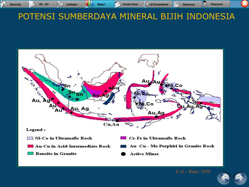 POTENSI SUMBERDAYA MINERAL BIJIH INDONESIA