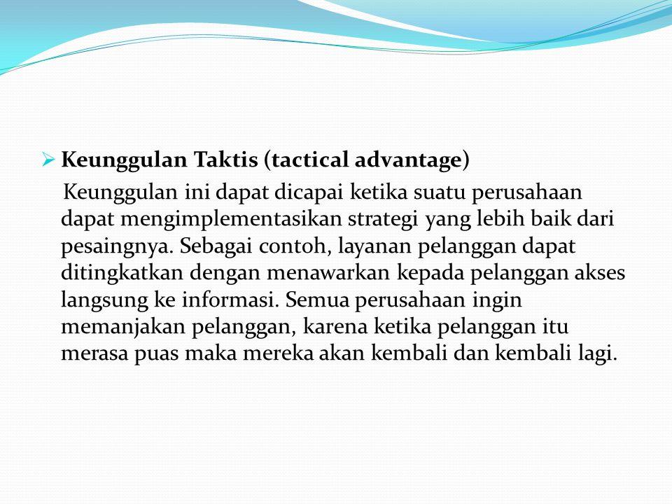 Keunggulan Taktis (tactical advantage)