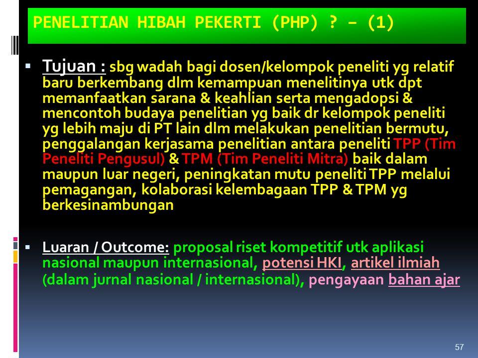 PENELITIAN HIBAH PEKERTI (PHP) – (1)