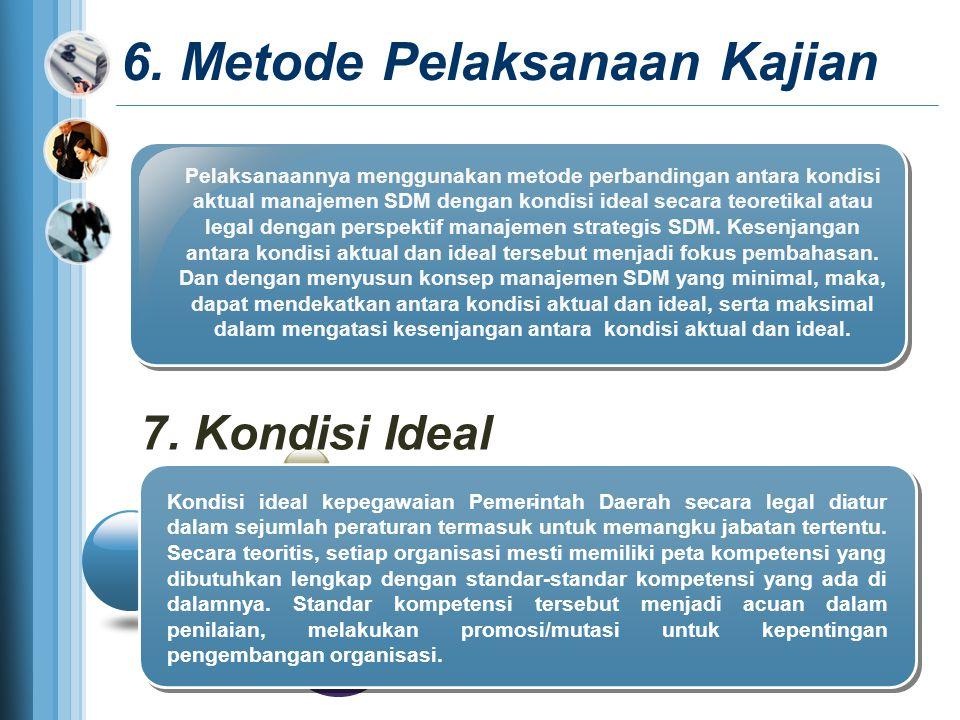 6. Metode Pelaksanaan Kajian