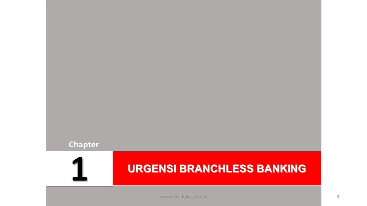 URGENSI BRANCHLESS BANKING
