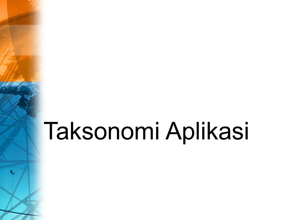 Taksonomi Aplikasi