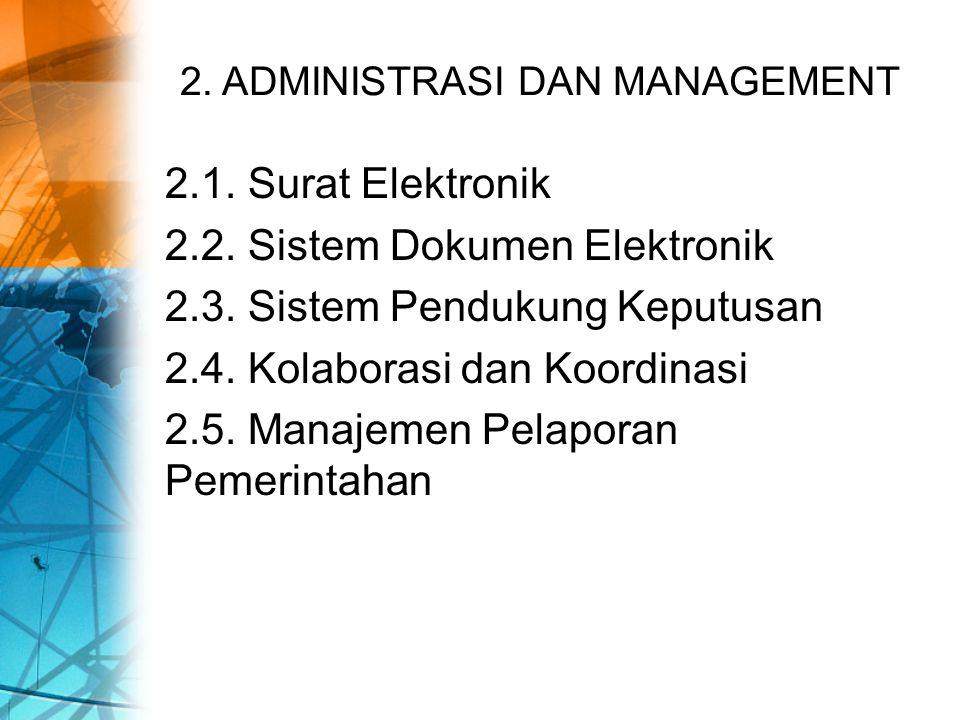 2. ADMINISTRASI DAN MANAGEMENT