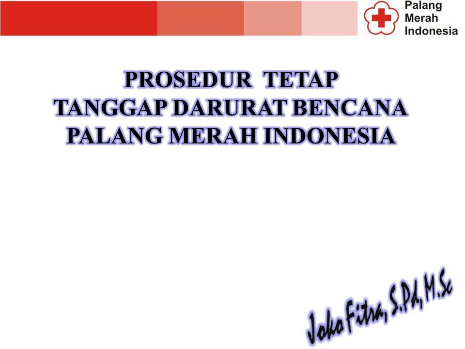 TANGGAP DARURAT BENCANA PALANG MERAH INDONESIA