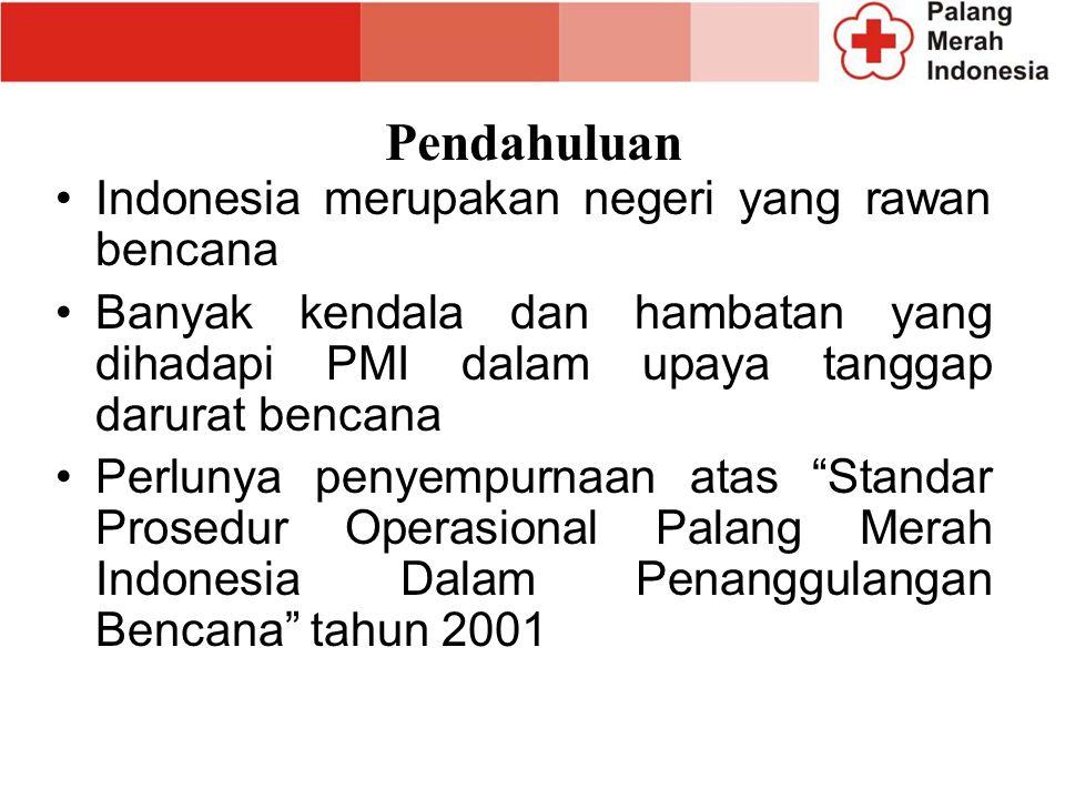 Pendahuluan Indonesia merupakan negeri yang rawan bencana
