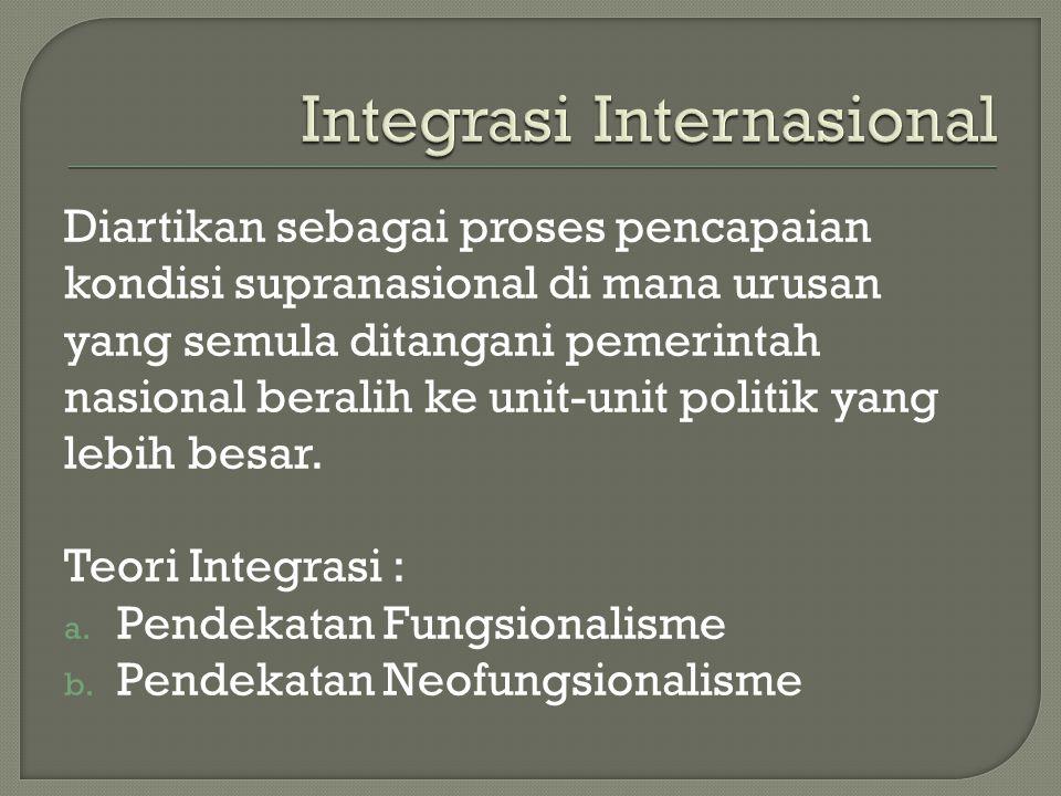 Integrasi Internasional