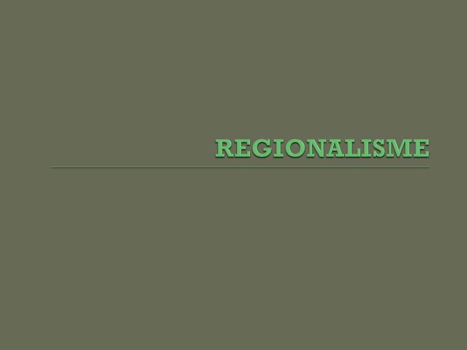 REGIONALISME