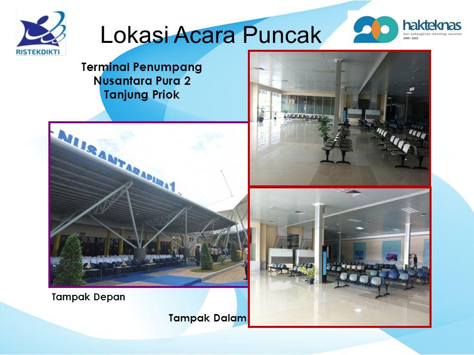 Lokasi Acara Puncak Terminal Penumpang Nusantara Pura 2 Tanjung Priok