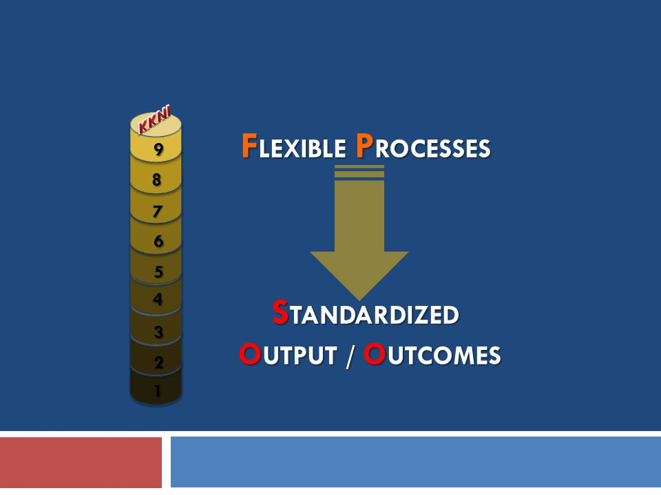 FLEXIBLE PROCESSES STANDARDIZED