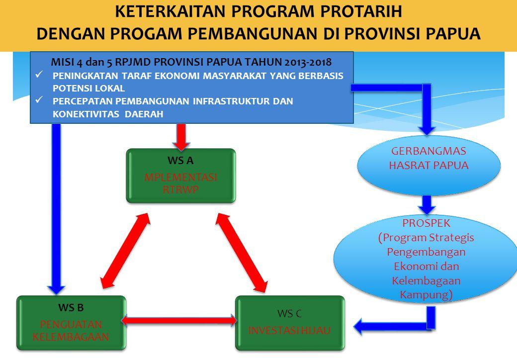 MISI 4 dan 5 RPJMD PROVINSI PAPUA TAHUN 2013-2018