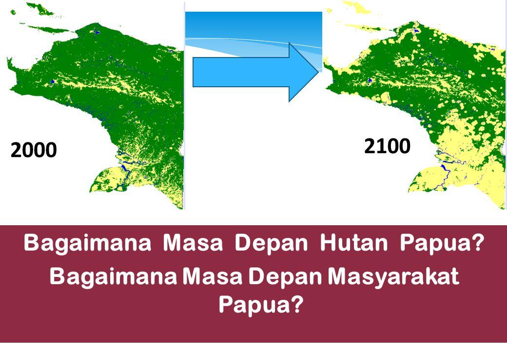 2100 2000 Bagaimana Masa Depan Hutan Papua Bagaimana Masa Depan Masyarakat Papua