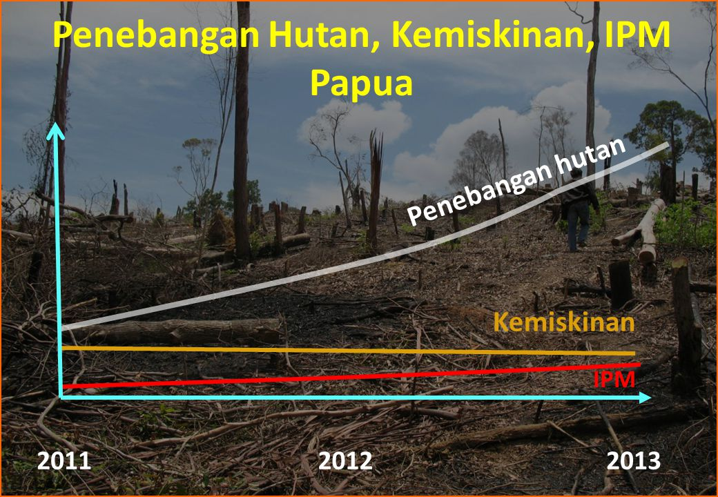 Penebangan Hutan, Kemiskinan, IPM