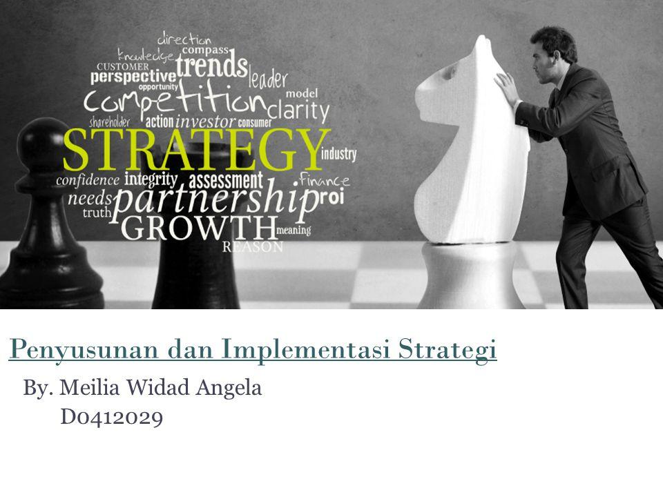 Penyusunan dan Implementasi Strategi