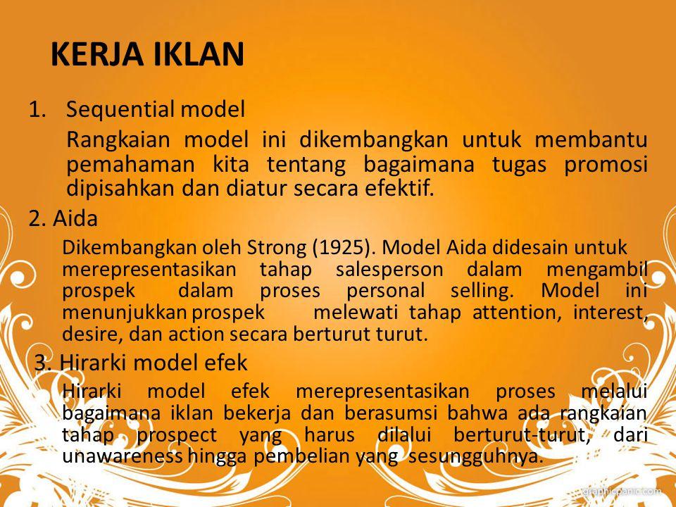 KERJA IKLAN Sequential model