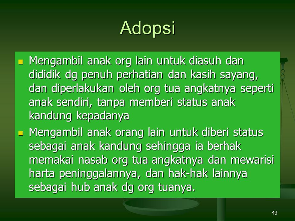 Adopsi