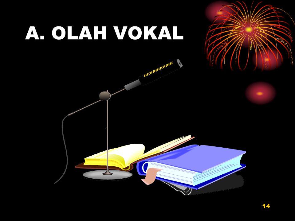A. OLAH VOKAL