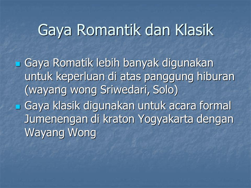 Gaya Romantik dan Klasik