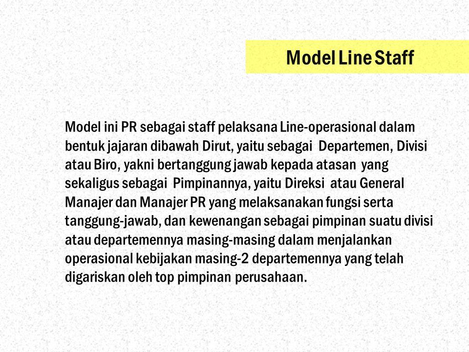 Model Line Staff
