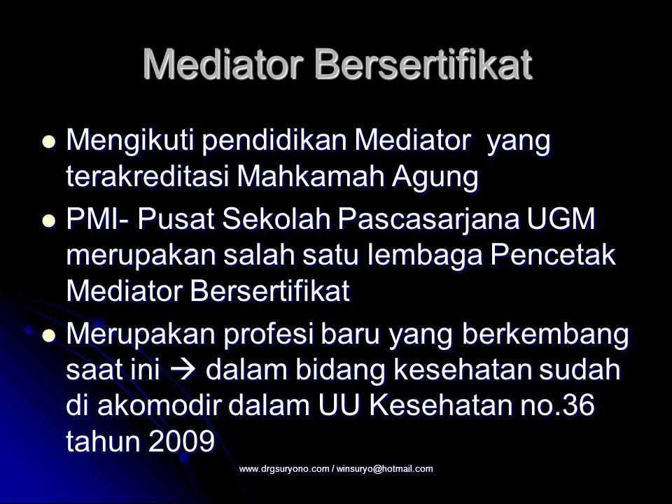 Mediator Bersertifikat