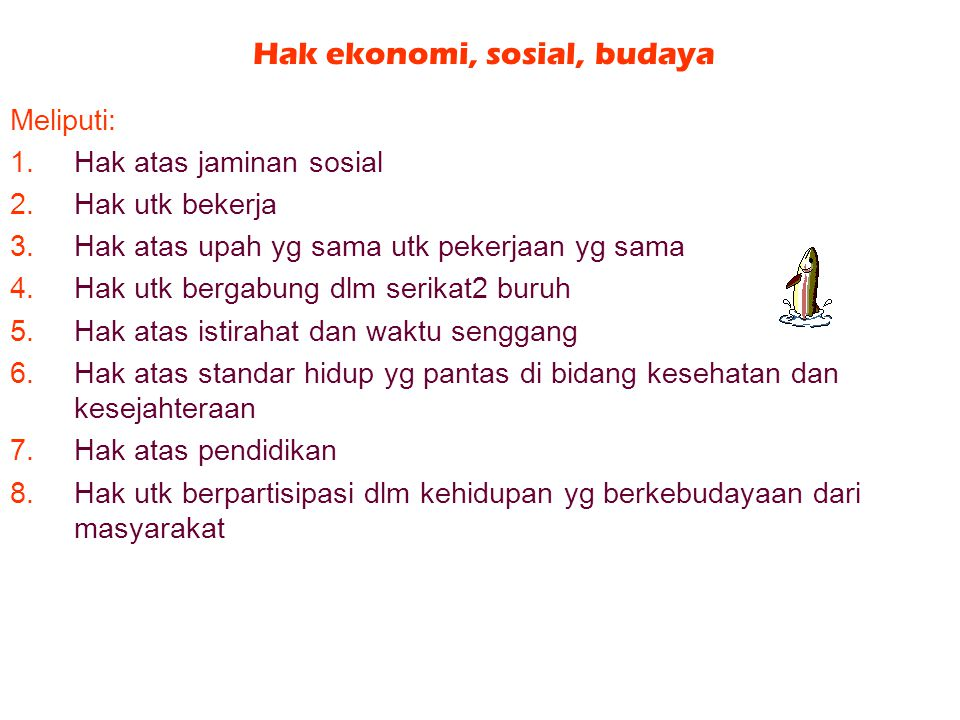 Hak ekonomi, sosial, budaya