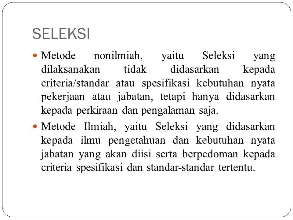 SELEKSI