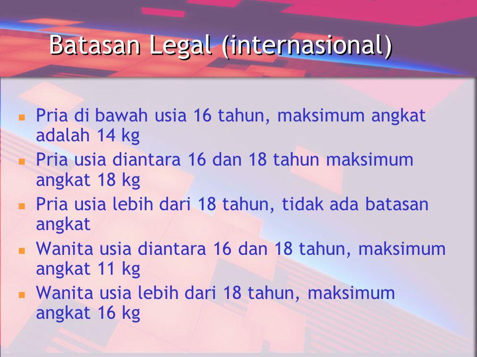 Batasan Legal (internasional)