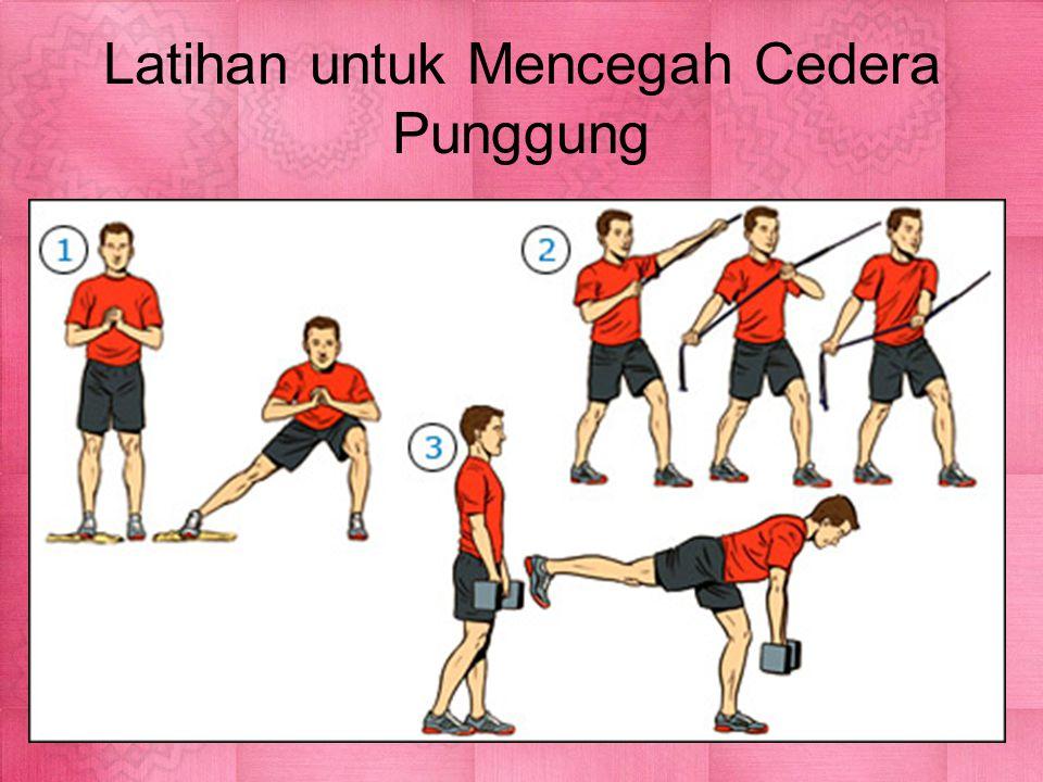 Latihan untuk Mencegah Cedera Punggung