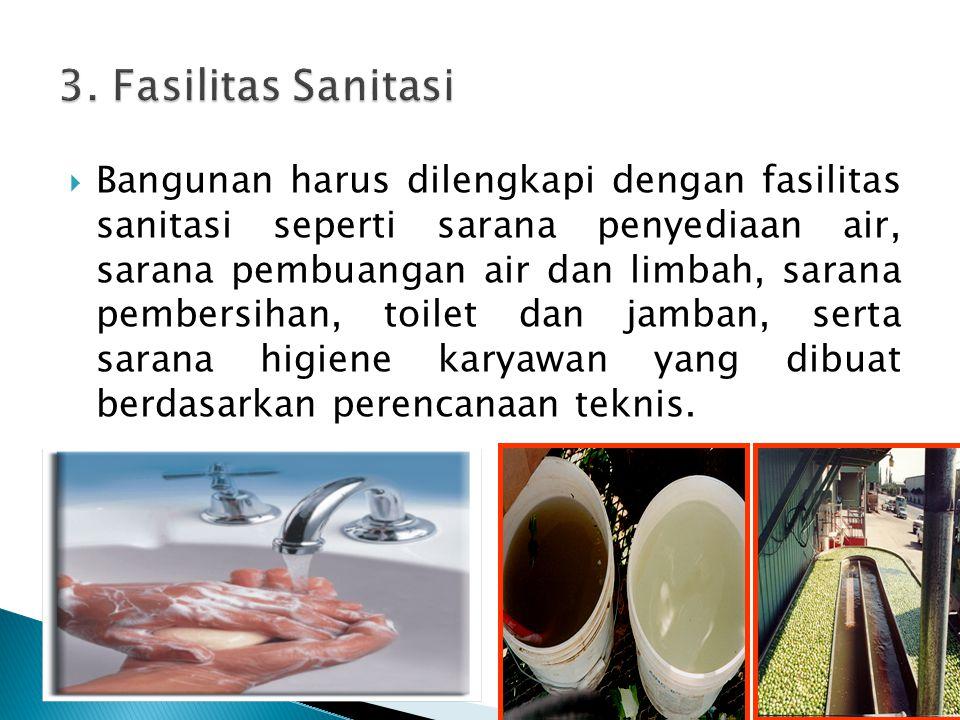3. Fasilitas Sanitasi