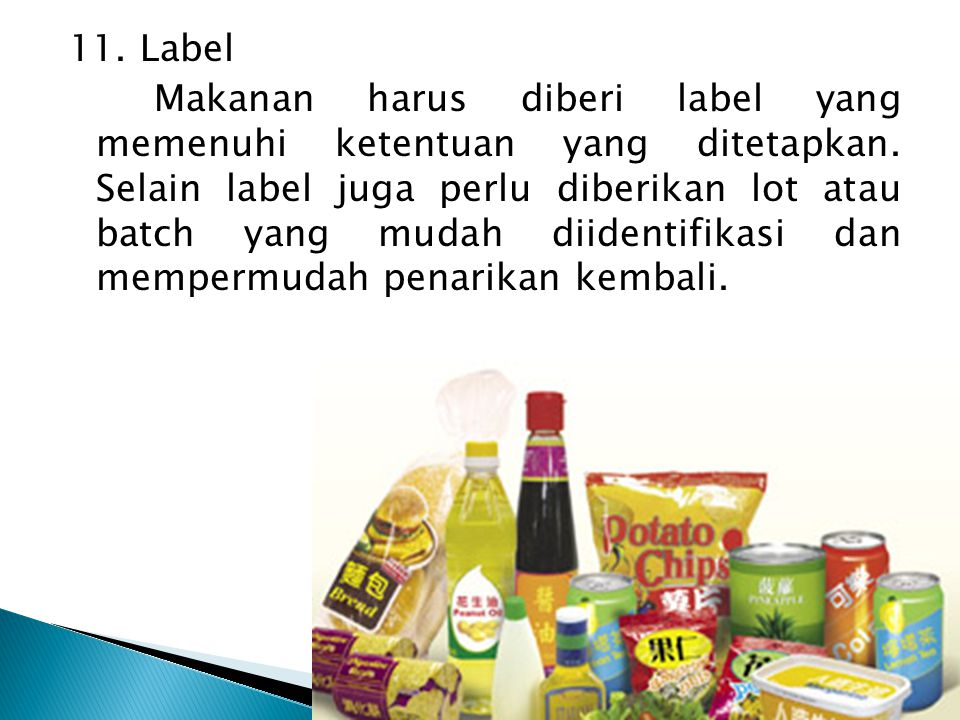 11. Label