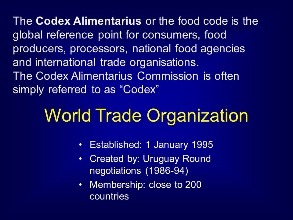 World Trade Organization