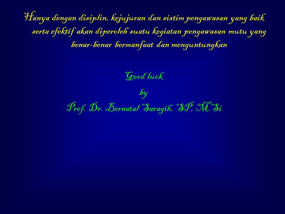 Prof. Dr. Bernatal Saragih, SP, M.Si