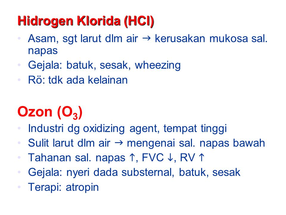 Hidrogen Klorida (HCl)