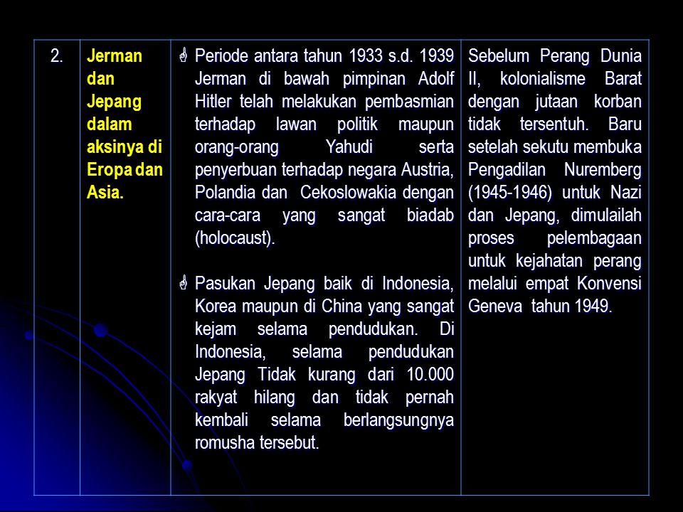 2. Jerman dan Jepang dalam aksinya di Eropa dan Asia.