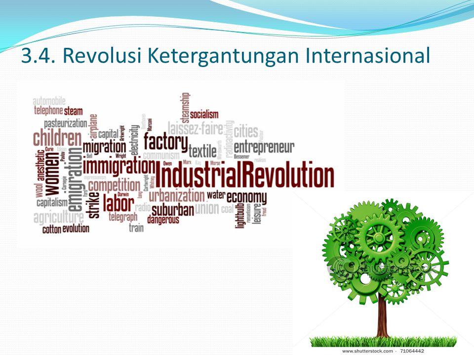 3.4. Revolusi Ketergantungan Internasional