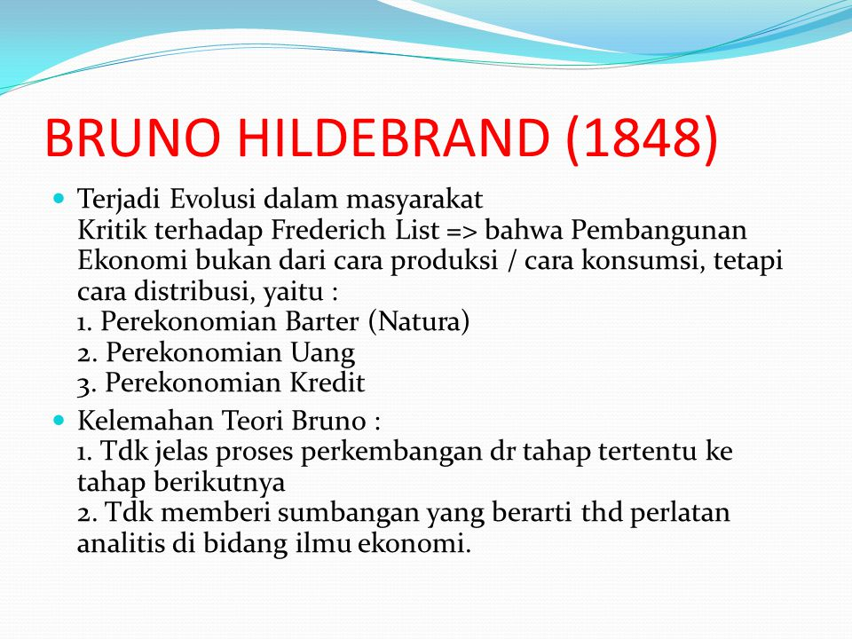 BRUNO HILDEBRAND (1848)