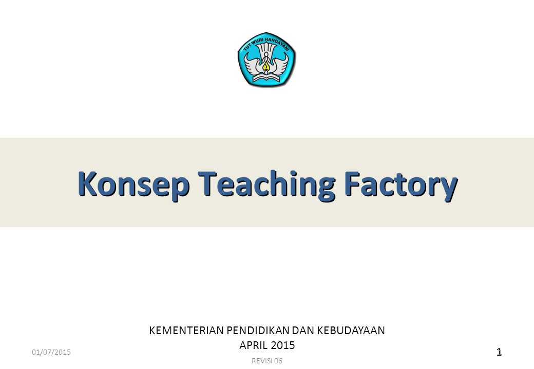 Konsep Teaching Factory