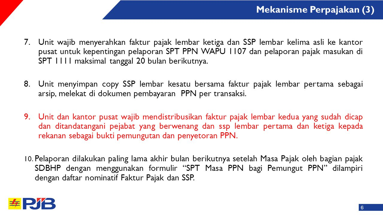Mekanisme Perpajakan (3)