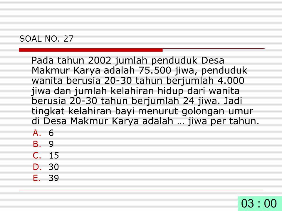 SOAL NO. 27