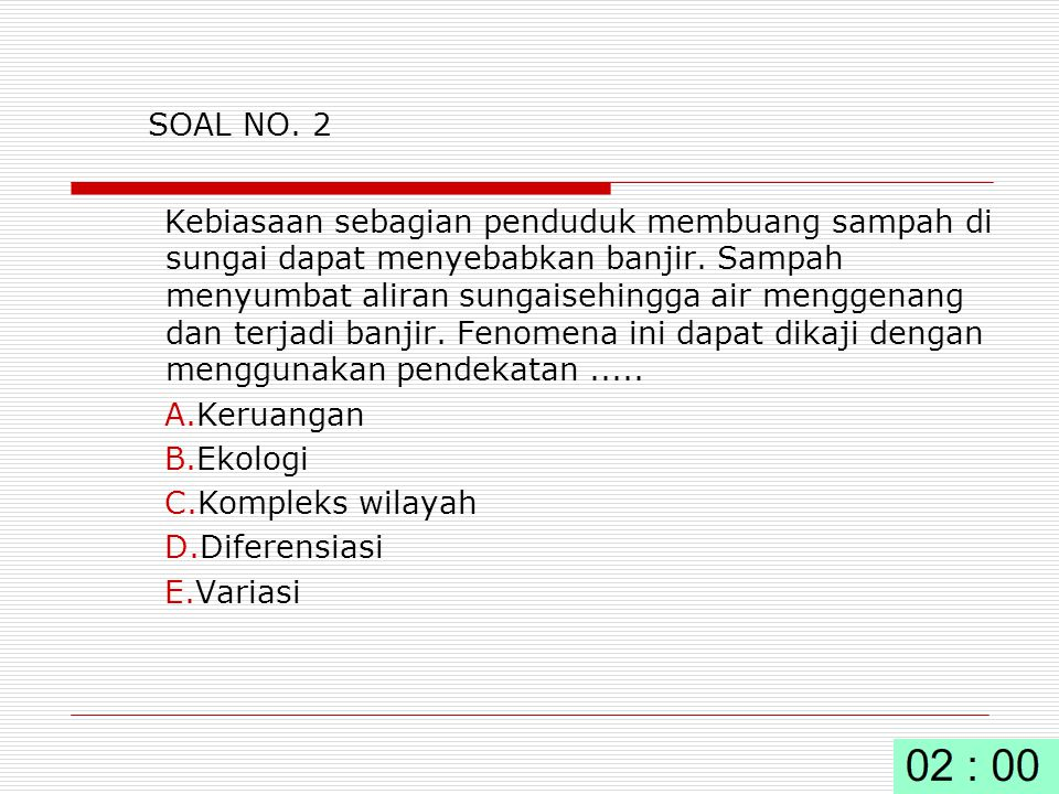 SOAL NO. 2
