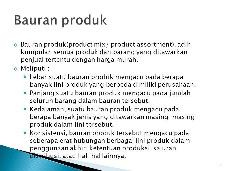 Bauran produk