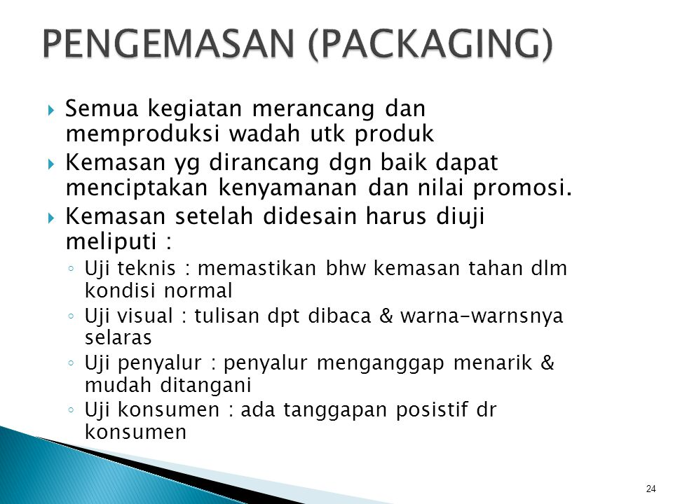 PENGEMASAN (PACKAGING)