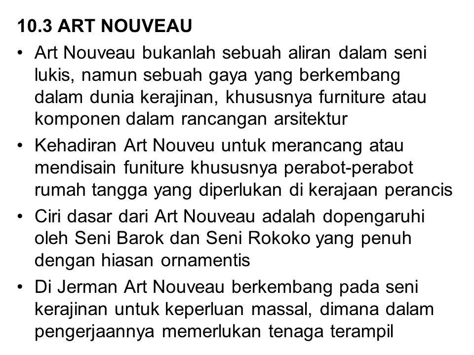 10.3 ART NOUVEAU