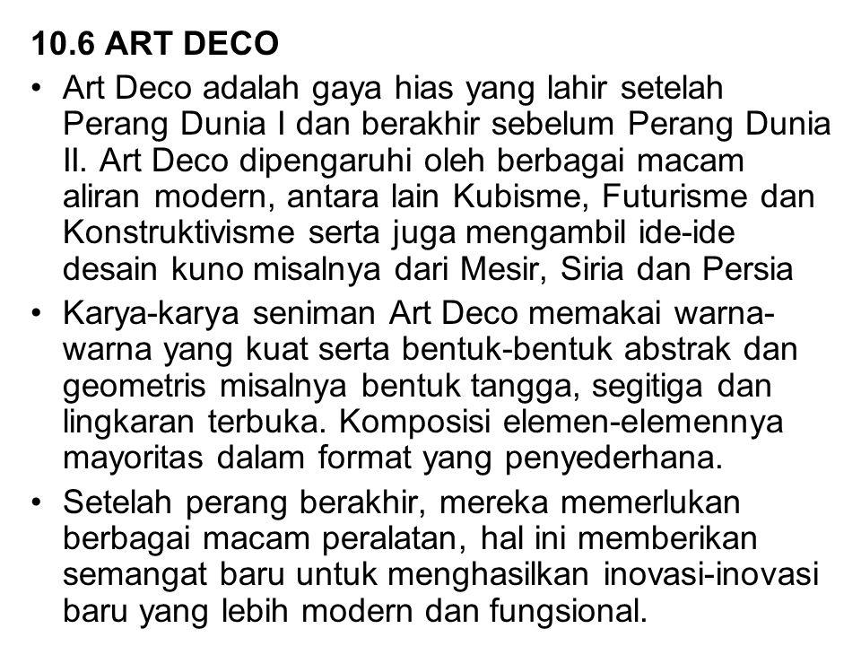 10.6 ART DECO